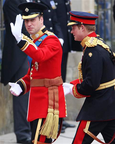 Royal-Wedding-Day-Princes-Arrive