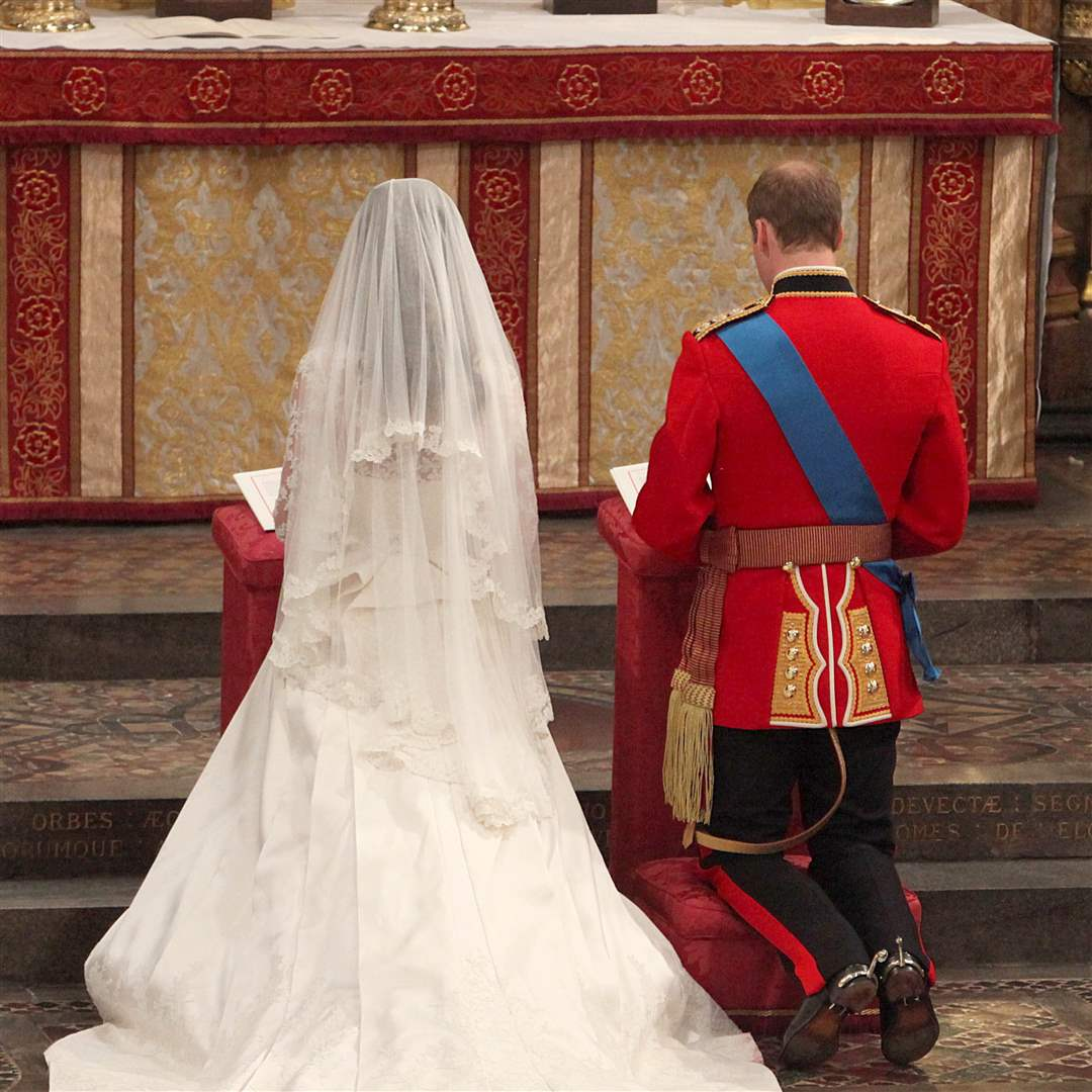 Royal Wedding Of Prince William And Catherine Middleton
