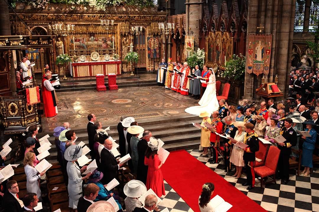 royal wedding of prince william and catherine middleton