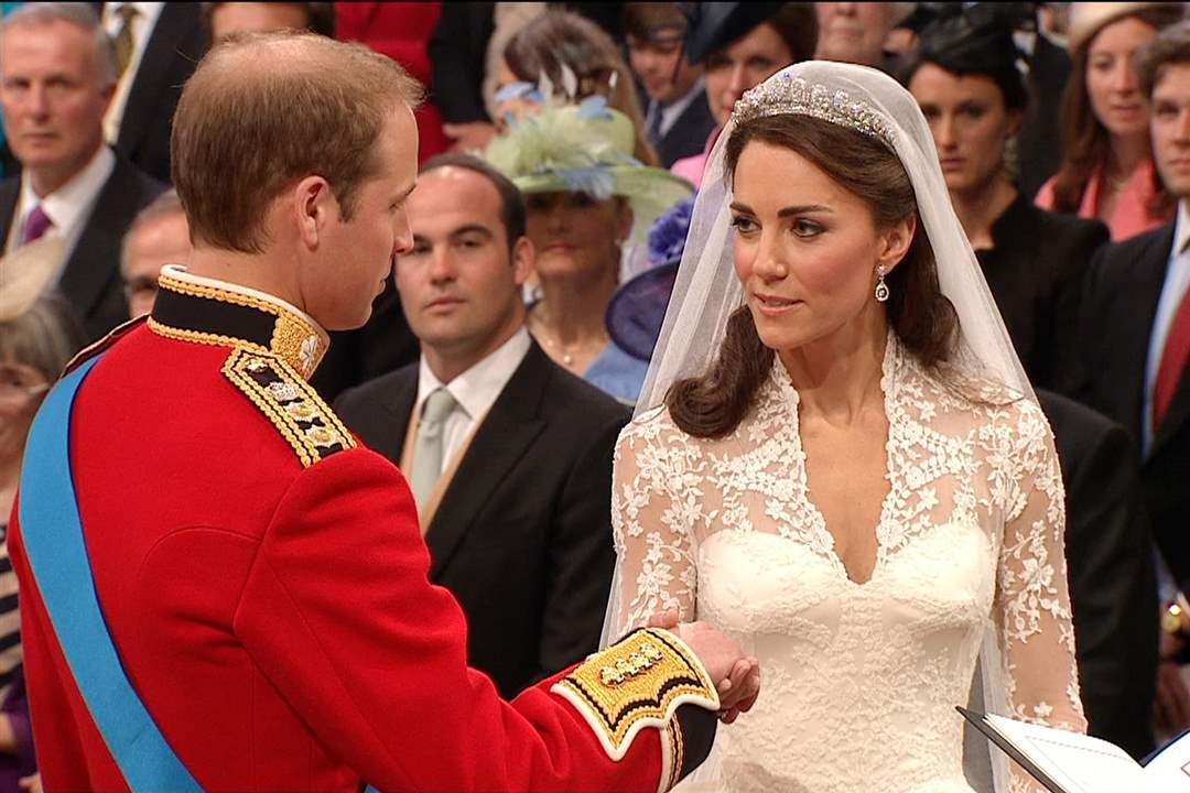Royal Wedding Day Kate Vows