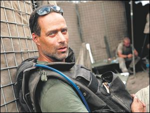 Sebastian Junger will speak at 7 p.m. Wednesday in the Stranahan Theater.