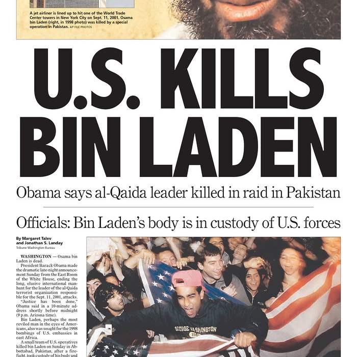Newspaper-Arizona-Republic-bin-Laden
