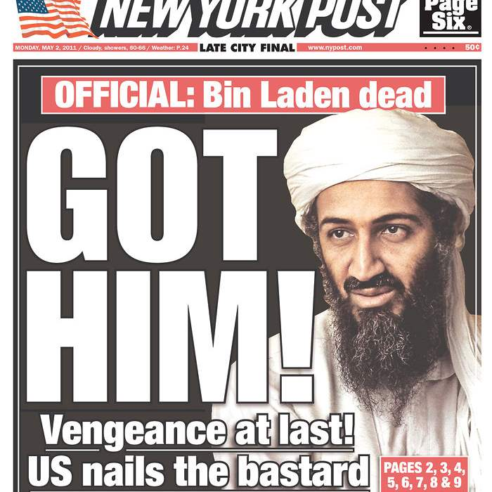 Newspaper-New-York-Post-bin-Laden