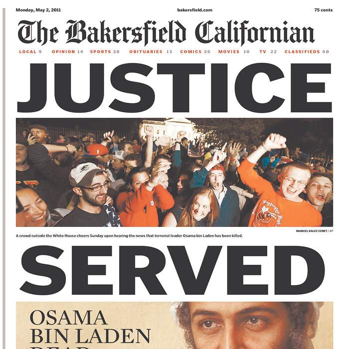 Newspaper-Bakersfield-Californian-bin-Laden