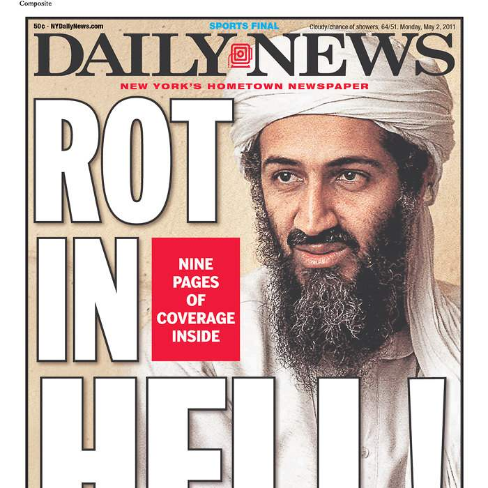 Newspaper-New-York-Daily-News-bin-Laden