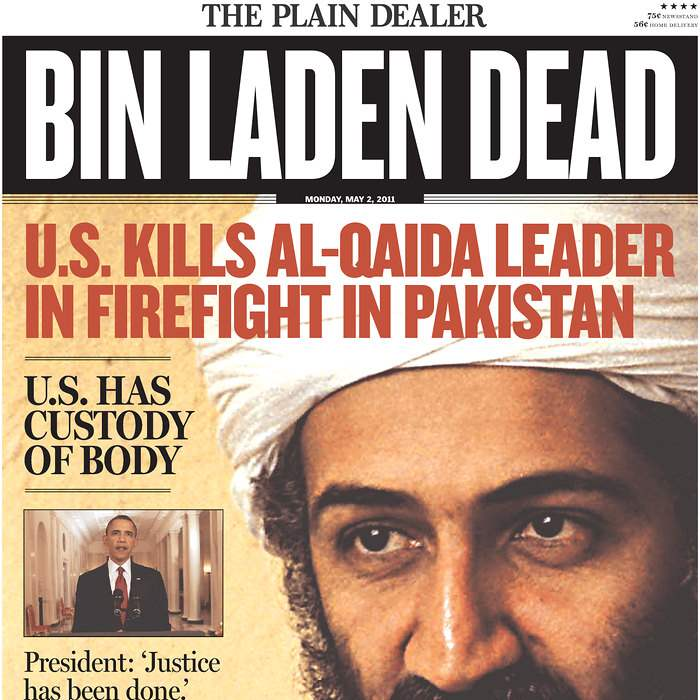 Newspaper-Plain-Dealer-bin-Laden