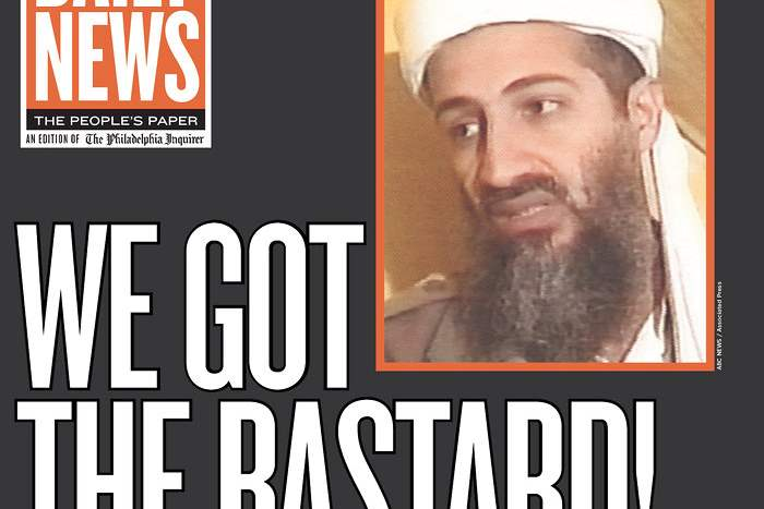 Newspaper-Philadelphia-Daily-News-bin-Laden