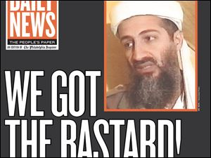 Enlarge The Philadelphia Daily News - Newspaper-Philadelphia-Daily-News-bin-Laden
