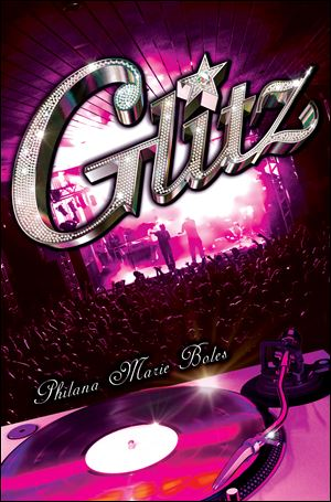 The cover of Toledo native Philana Boles' fourth book, 'Glitz.'