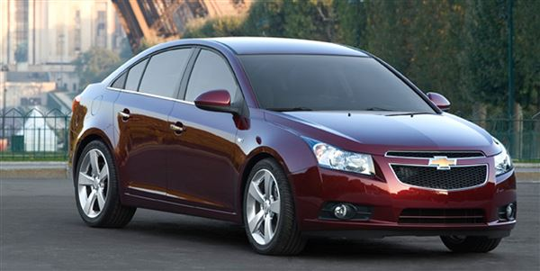 gm recalls chevy cruze for steering shaft problem the blade. Black Bedroom Furniture Sets. Home Design Ideas