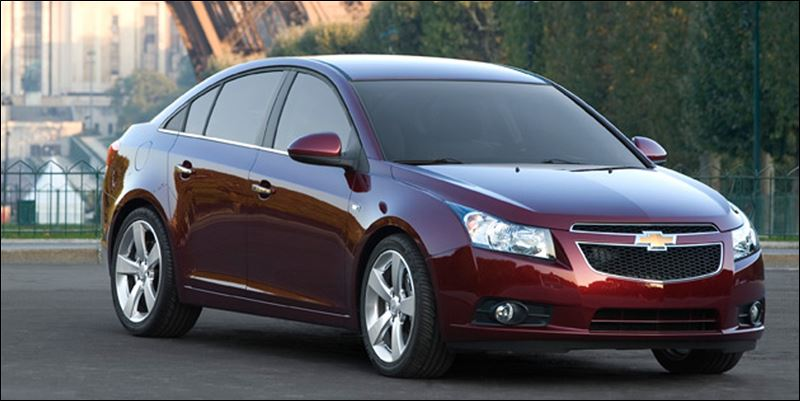 gm recalls chevy cruze for steering shaft problem toledo. Black Bedroom Furniture Sets. Home Design Ideas