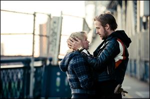 Michelle Williams and Ryan Gosling in 'Blue Valentine.'