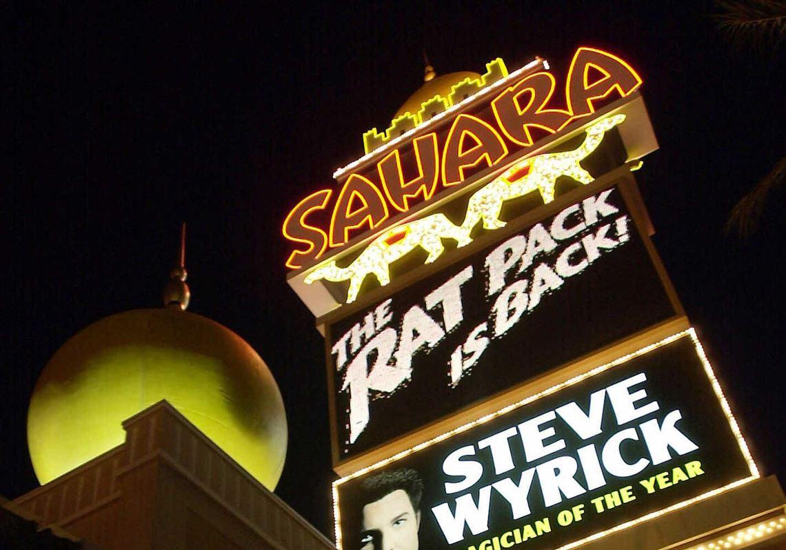 Sahara Hotel Casino Closing On Las Vegas Strip After 6 Decades The Blade