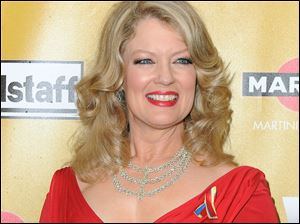 'Entertainment Tonight' host Mary Hart.