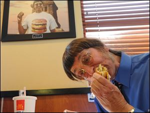Guinness World Records recognized Don Gorske's feat three years and 2,000 Big Macs ago, but Gorske says he has no desire to stop.