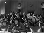 A veteran of the war in Vietnam, John Kerry testifies before the Senate Foreign Relations Committee in 1971.