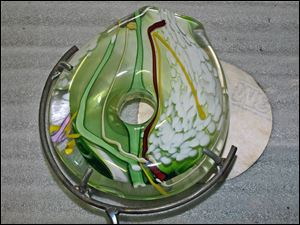 Jim Yarrito's Studio Art Glass at American Gallery in Sylvania.