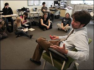 English teacher Justin Longacre and his students talk about getting published.