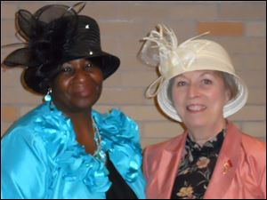 Glena Brown-Hayes is executive Director and Jane McGee is education and career coordinator of Women Blessing Women.