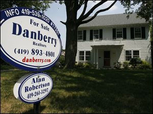 Housing prices in the Toledo area have fallen 14 percent in the past five years.