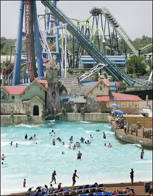 Geauga Lake Park  in Aurora, Ohio.