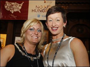 Heather Allen and Melissa Pollock at Taste of the Nation.