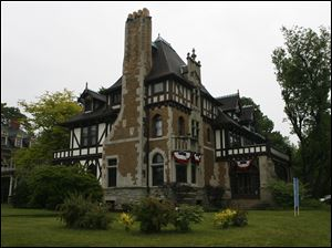 The mansion at 2210 Robinwood Ave. is one of the homes on the tour during the Old West End festival.