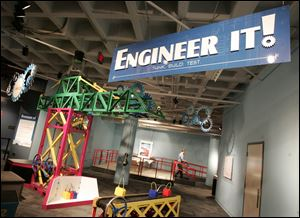 The New Engineer It! exhibit at the Imagination Station in Toledo.