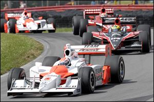 The 2008 Honda Indy 200 auto race at Mid-Ohio Sports Car Course in Lexington, Ohio.