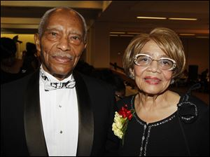 Oscar and Leola Haynes, Toledo, at the 47th Annual Debutante Cotillion.