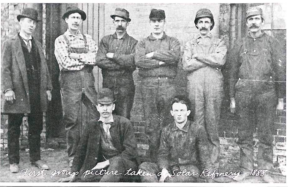 Lima-refinery-first-employees