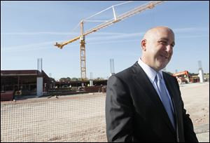 Richard St. Jean, Hollywood Casino Toledo general manager, says, 'First to market is always a great story.' It will be a standard of what guests should expect, he said.