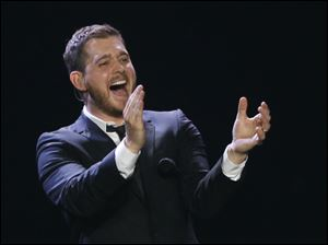 A surprise for those who had never seen a Michael Buble concert, the man is funny.