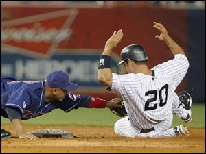 Yankees pound Indians after benches clear early - Toledo Blade