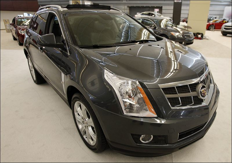 General Motors To Recall 47,000 Cadillac SRX Crossovers To