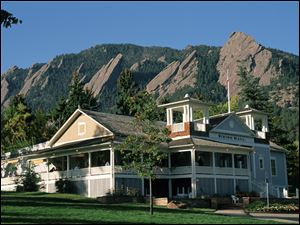 The Dining Hall at Chautauqua in Boulder.