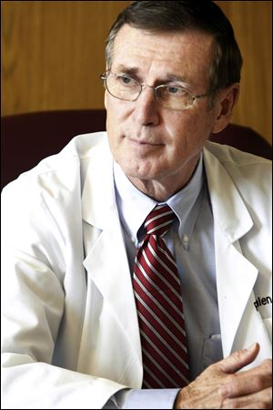 """Once you're there, it's tough to say 'I'm done,'"" says Dr. Ralph Whalen of Toledo Hospital."