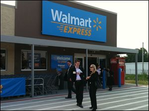 Walmart Express stores such as this one in Gentry, Ark., are the heart of the strategy.