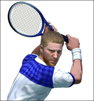 A character from Virtua Tennis 4.