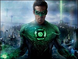 Ryan Reynolds stars as Hal Jordan in the 'Green Lantern,' which opens Friday in area theaters.