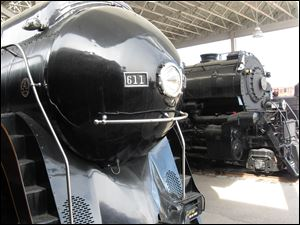 The largest collection of steam and diesel locomotives in the country is on display in Roanoke.