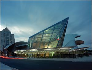 The Taubman Museum of Art is in Roanoke, Va.