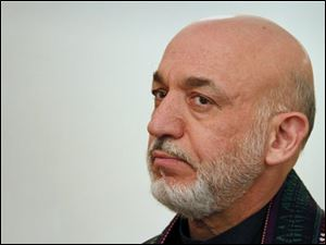 Afghan President Hamid Karzai said his nation and the United States have begun peach talks with the Taliban.