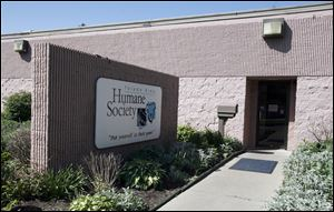The Toledo Area Humane Society's offices.