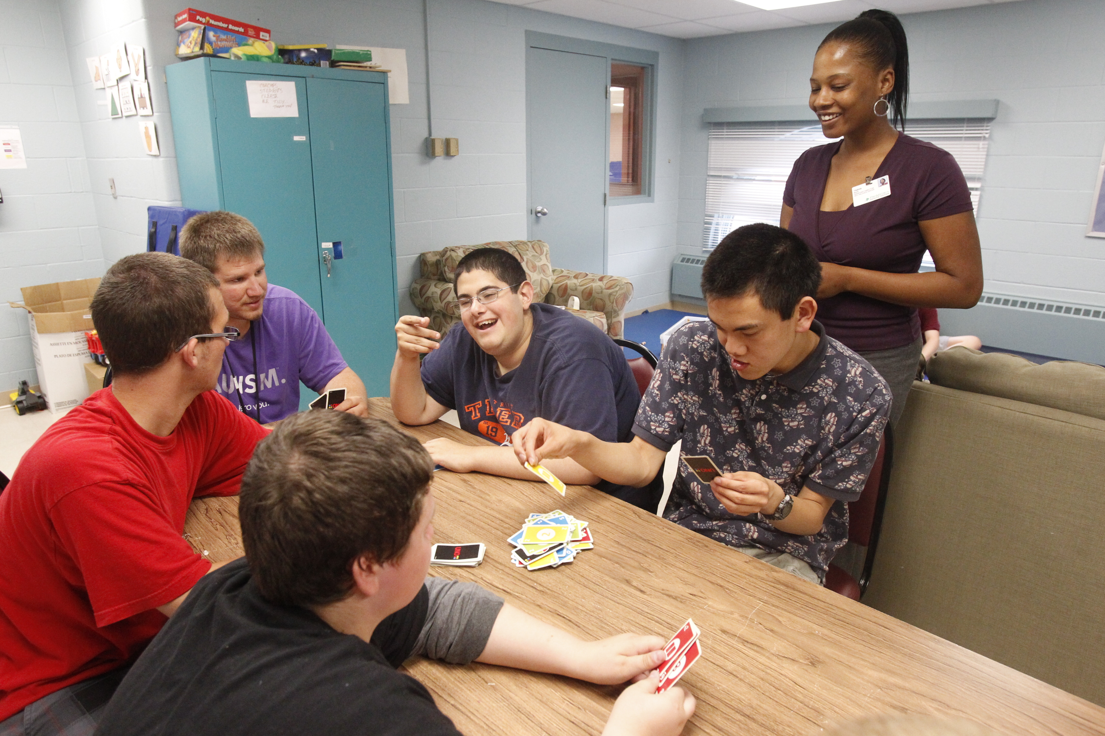 autistic teens get a place for socializing and fun