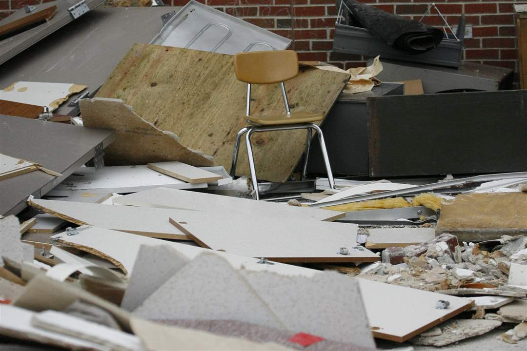 Maplewood-Elementary-chair-rubble