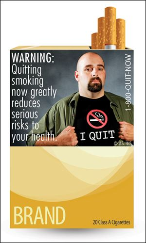 WARNING: Quitting smoking now greatly reduces serious risks to your health.