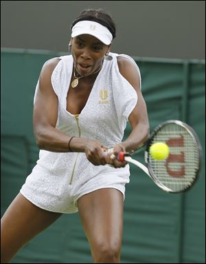 Venus Williams, who has only played seven times this season, called her outfit 'trendy.'