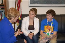 Local-teen-Bowersox-attend-diabetes-conference-in-D-C