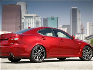 2011 Lexus IS F.